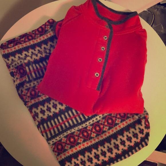 Kohl s NWT Fleece Pajama Set! 6f1e734a8